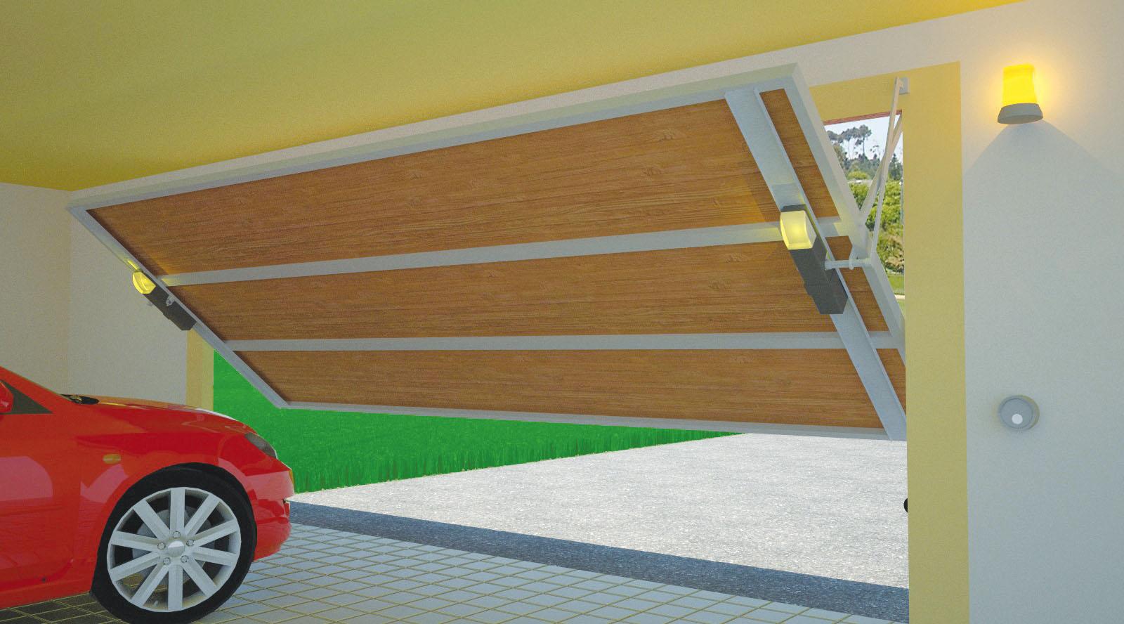 Controllo del garage dalla centrale antifurto - Serranda elettrica casa ...