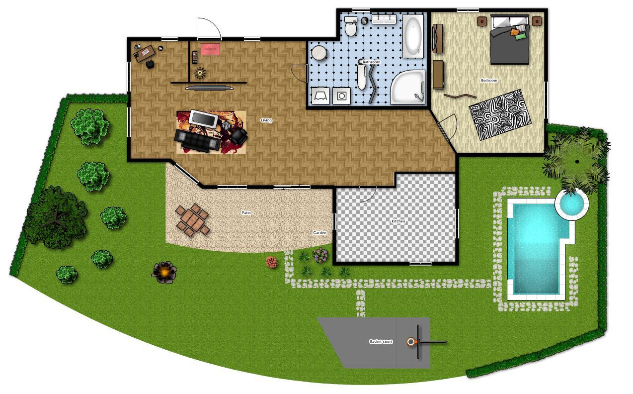 Sistema d allarme perimetrale cos e come funziona - Come disegnare una casa con giardino ...