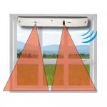 sensore a tenda via filo