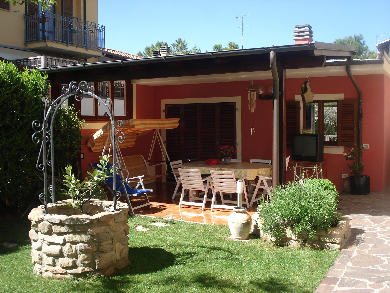 Protezione di casa e giardino - Giardino interno casa ...