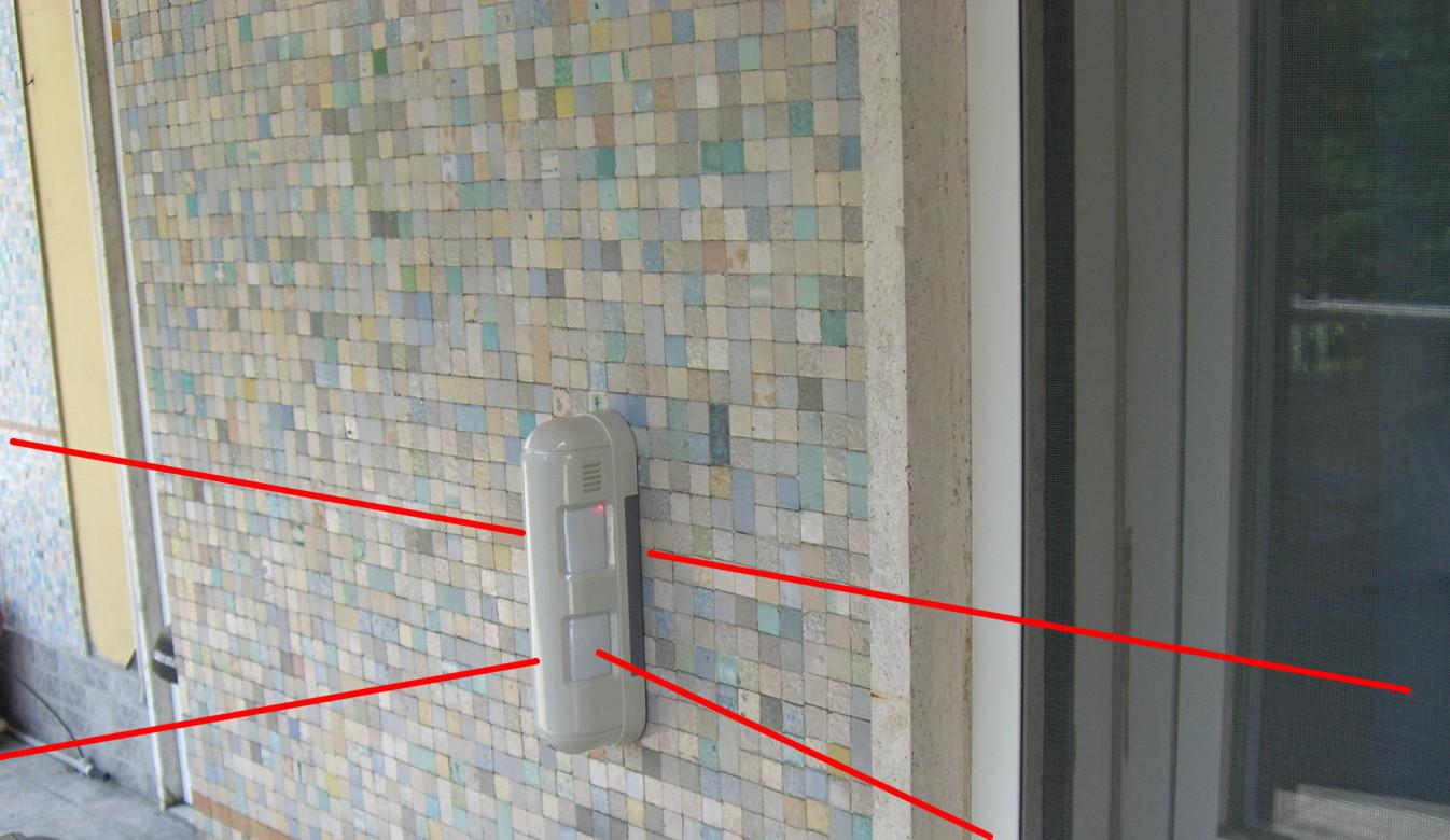 Sensori volumetrici o impianti di videosorveglianza - Sensori allarme alle finestre ...